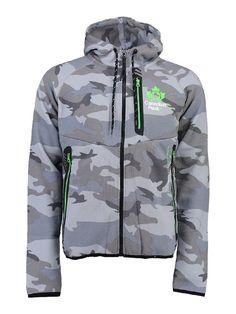 96c52df49d22 Canadian Peak Sweatjacke Gadigan in Grau   65% Rabatt   Größe S   Herren  pullover
