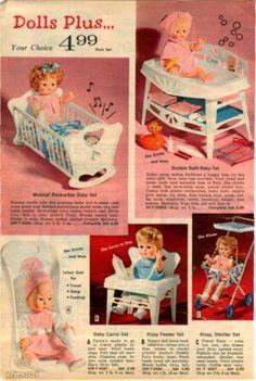 1972 Advertisement Doll Mattell Living Baby Tender Love