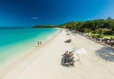 Dickenson Bay offers the most protected beach in all of Antigua, renowned for its forever-calm waters.