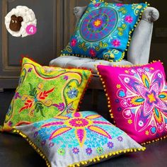 Indian tribal patterns and prints. You can't beat ethno inspired homeware.