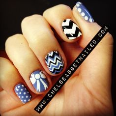 Chevron, Bow, and Polka Dots