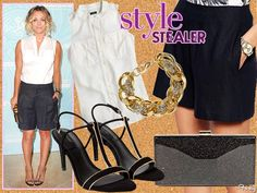 Style Stealer: Kaley Cuoco Proves Shorts Aren't Just For Casual Weekends