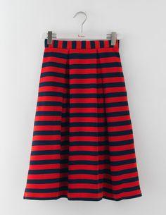 Maggie Ottoman Midi Skirt WG648 Below Knee Skirts at Boden