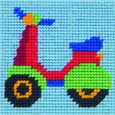 Anchor Counted Cross Stitch Starter Set for Beginners or Children Makes an ideal… Simple Cross Stitch, Cross Stitch Baby, Cross Stitch Charts, Cross Stitch Designs, Cross Stitch Patterns, Cross Stitch Embroidery, Embroidery Patterns, Tapestry Kits, Starter Set