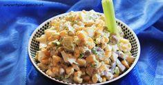 Rewelacyjna Pieczarkowa Sałatka z Jajem i Ogórkiem. Cantaloupe, Risotto, Potato Salad, Macaroni And Cheese, Brunch, Lose Weight, Food And Drink, Menu, Potatoes