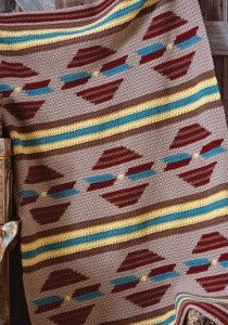 Arizona Sunset Crochet Blanket Pattern | AllFreeCrochetAfghanPatterns.com