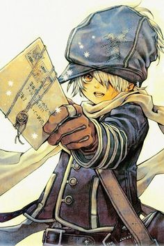 Lag from Tegami Bachi (Letter Bee)