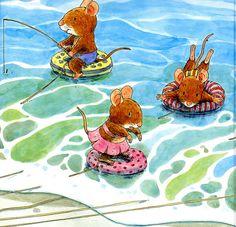 «La família ratolí va a la platja» by CORNABOU REVISTA DIGITAL, via Flickr