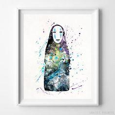 No Face, Spirited Away Print