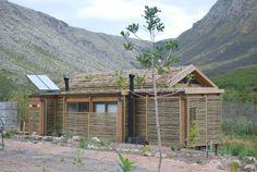 new eco cabins in Kogelberg reserve