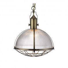 419 ron Pendul INDUSTRIAL 7601AB - SEARCHLIGHT - Lustre de Lux