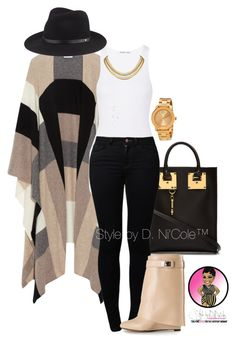 Untitled #2968 by stylebydnicole on Polyvore featuring polyvore fashion style Helmut Lang Madeleine Thompson Noisy May Givenchy Sophie Hulme Movado rag & bone