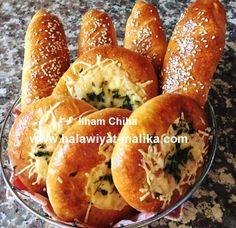 خبيزات باللحم المفروم والخضر للأخت Ilham Chiha الطريقة في الرابط: http://www.halawiyat-malika.com/2016/08/blog-post_7.html