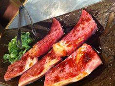Kobe beef in Osaka