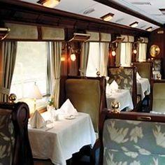 1920s  Dining Car Luxury Travel ~ Machu Picchu, The Hiram Bingham Train ~Via Chantal Woltring