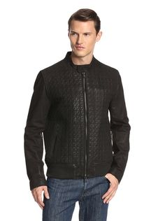 awesome Vince Camuto Quilted Leather Jacket