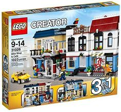 LEGO-Creator-Bike-Shop-and-Cafe-31026-Building-Toy-by-LEGO-Creator-0