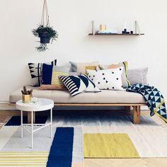 Ferm Living Color Block Cushion - Striped