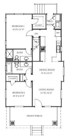 Duplex Mobile Home Floor Plans King Duplex 2br 1ba