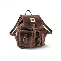 Waldis-Fellshop - Rucksack aus Wildleder Fellhof Shops, Backpacks, Bags, Fashion, Dark Brown, Suede Fabric, Taschen, Handbags, Moda