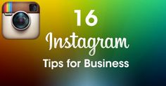 16 Instagram Tips for Business - Rick Ramos Consulting http://www.rickramos.com/social/instagram-tips-for-business/