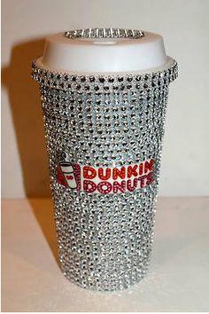 Dunkin' Donuts Travel Mug by TheFawnDoe on Etsy, $30.00??? HAHAHAHAHAHA