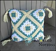 Ravelry: Tilted Tile Throw Pillow pattern by Amber Schaaf