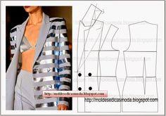 Moldes Moda por Medida: PASSO A PASSO MODELAÇÃO DE GOLA