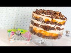 Trifle de brownie y caramelo salado - Recetas de postres (y panes)