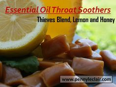 Essential Oil Throat Soothers
