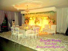 Butterfly Decoration Wedding. for more info : feramaulani631@yahoo.com