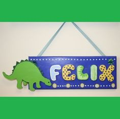 CHILDREN'S PERSONALISED DOOR PLAQUES - Various Designs - Any Name - Hand Painted | eBay