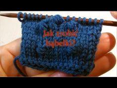 Jak robić bąbelki albo nupki? Knitted Hats, Knitting, Youtube, Fashion, Moda, Tricot, Fashion Styles, Breien, Stricken