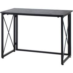 "Victoria 40"" Flip-Out Home Office Desk, Black - In stores only Trade Zone didnt have this....Item 0085101200225"