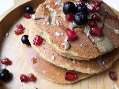 Banana Oatmeal Pancakes, Breakfast, Healthy, Food, Gluten, Morning Coffee, Essen, Yemek, Morning Breakfast