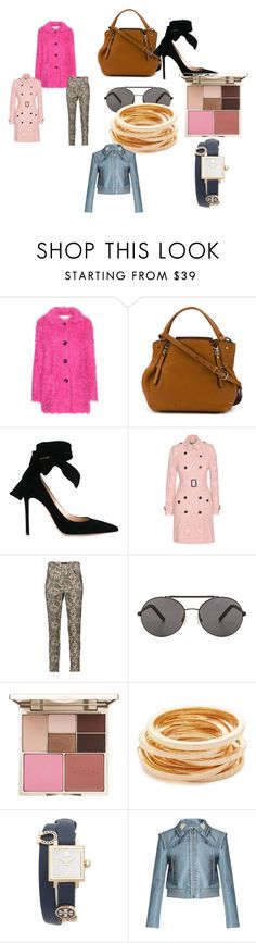 """Modalist Style"" by modalistmarketing on Polyvore featuring Vanessa Bruno Athé, Burberry, Gianvito Rossi, Isabel Marant, Seafolly, Stila, Kenneth Jay Lane, Tory Burch and Miu Miu"