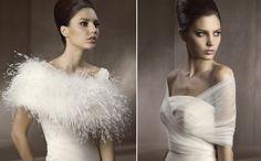 boléro mariage assorti à la robe- idées de cache-épaules chic
