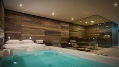 Whirlpool Design By Gasteiger Bad Architektur / Kitzbühel. 3D  Visualisierung Für Ein Badarchitektur Konzept