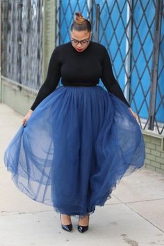Maxi Tutus are a MUST   tellylovesfashion Plus Size Fashion , Plus Size Blogger, Curves , Women's Fashion, Fashion, Fashion Blogger, Maxi Tulle Skirt Fashion Fashion, Latest Fashion, Plus Size Fashion, Curves, Ballet Skirt, Skirts, Blog, Style, Tutus