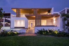 Modern Classic Minimalist Peruvian Beach House in Lima, Peru