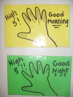 High 5 charts, helping toddlers/young children with routines! One they've done all five reward them a high five! Craft Activities For Kids, Toddler Activities, Fun Learning, Teaching Kids, Printable Potty Chart, Toddler Routine Chart, Potty Training Boys, Behaviour Chart, Apt Ideas