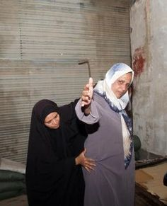 Iraqi Females at a Checkpoint