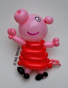 My daily Balloon. So cute.... Peppa pig