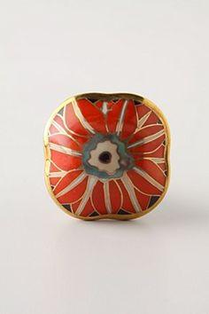 Brilliant Blossom Knob by Anthropologie: $10 #Knob #Anthropologie