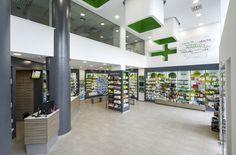 Vraka Maria and Associates Pharmacy by Lefteris Tsikandilakis, Chalkida – Greece » Retail Design Blog