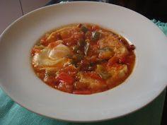 Las Recetas de Marichu.... y las mias: Sopa de Tomate Extremeña
