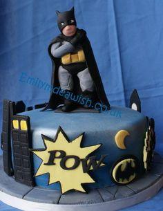 BATMAN!  Cake by Emilyrose