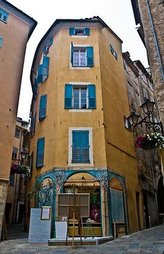 The town of Grasse in Provence, perfume capital of the world, France