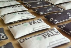 Scented Business Card Sachets