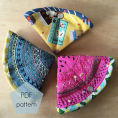 *This is a PDF sewing pattern, not the physical product. Your pattern will be available for instant download upon purchase*  This pattern has easy to follow instructions to create and customise your own Stitchy Pie needle case. The 11 page PDF contains a step by step guide to making the